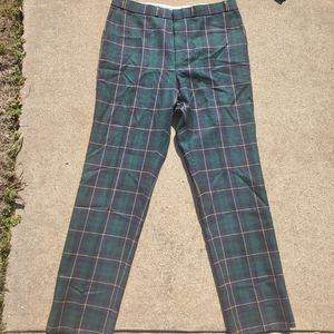 Dewar Highlander Never Varies Wool Pants sz 36